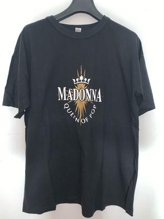 Madonna Camiseta Queen of Pop No Oficial