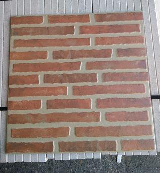 Azulejo pared efecto ladrillo 45x45