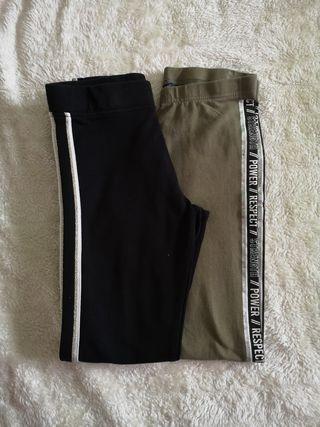 2 Pantalones 10-11años