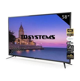 """Smart Tv 58"""" 4k"""