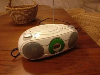 reproductor USB, CD radio