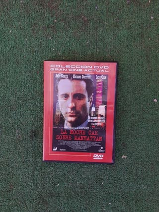 dvd la noche cae sobre manhatan