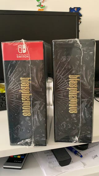 Blasphemous nintendo switch y ps4