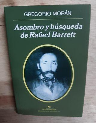 LIBRO ASOMBRO Y BUSQUEDA DE RAFAEL BARRETT / G. MO