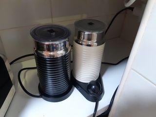 calentador leche nespresso