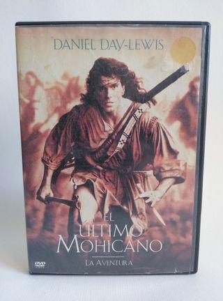 DVD El Último Mohicano