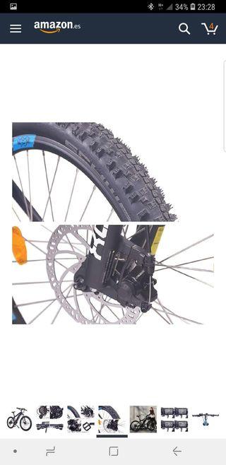 bici eléctrica semi nueva