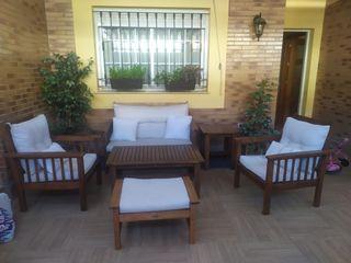 Conjunto mueble jardin
