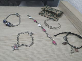 Pack pulseras de plata