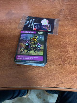 55 cartas Super Rare Games