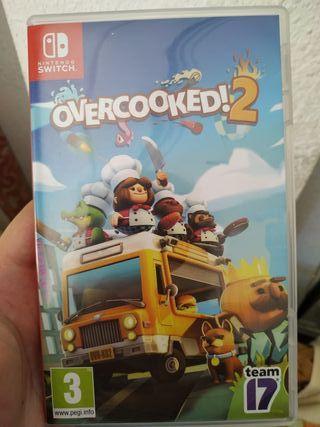Juego Overcooked 2 Nintendo Switch