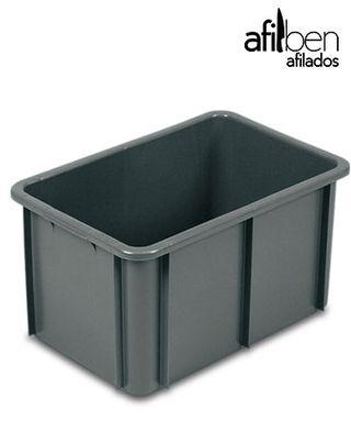 Cubeta manutención apilable 55 litros