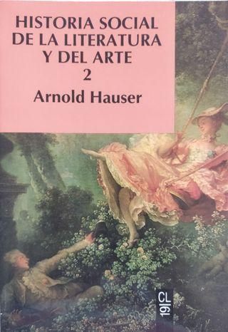 Libros Historia social, de la literatura y arte