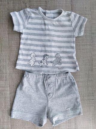 Conjunto bebé Dudú T:9-12 m.Ropa bebé.