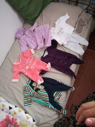 ropa de recién nacido