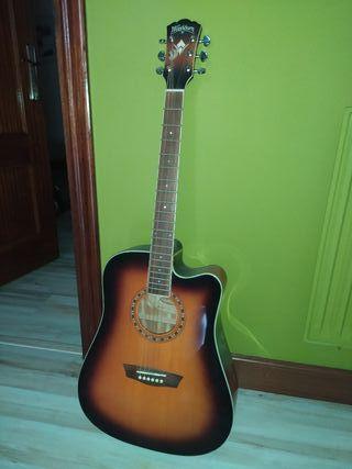 Guitarra Washburn acustica.