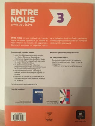 Libro francés B1