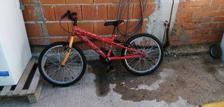 bicicleta de montaña SPIDER-MAN