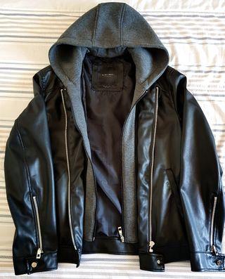 chaqueta Piel Zara