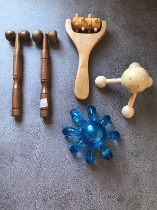 Lote herramientas de Masaje