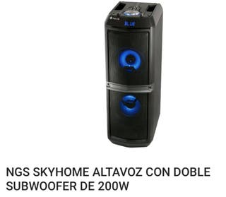 torre sonido 200w