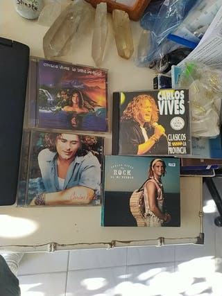 4 cds Carlos Vives
