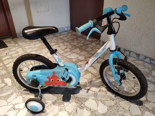 bicicleta 14 pulgadas btwin