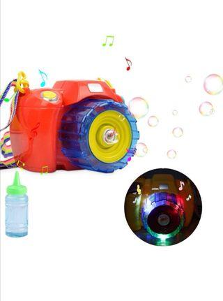 Camara burbujas pompas