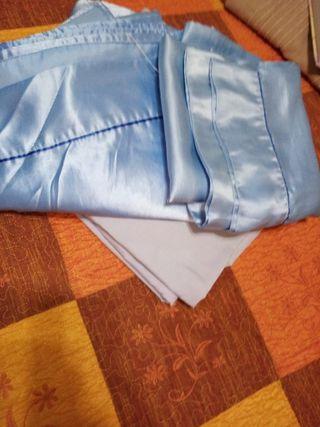 Vendo juego de sábanas de raso