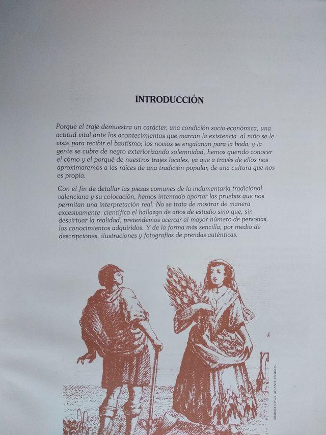 Libro Indumentaria valenciana siglos XVIII- XIX