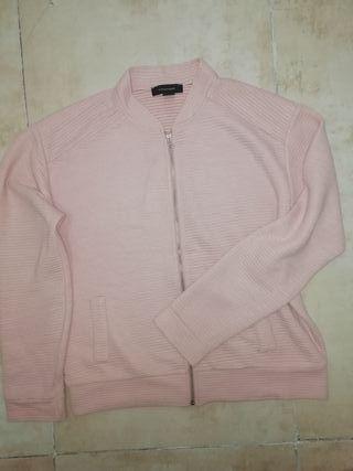 sudadera rosa palo