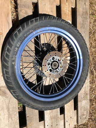 Rueda moto ciclomotor llanta