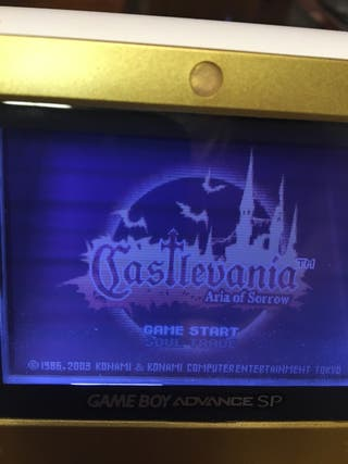 Juego Castelvania Double Pack Game Boy Advance