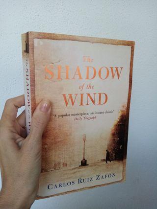 the shadow of the wind. novela