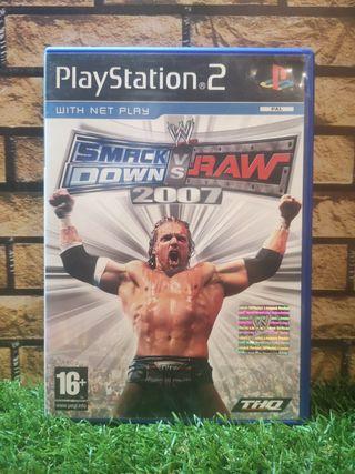 Smack Down Vs Raw 2007 ps2