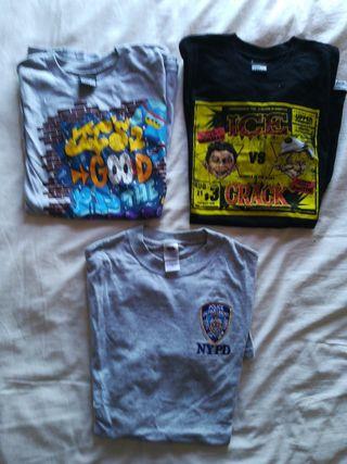 Lote camisetas Urbanas Nueva York New York T. s.