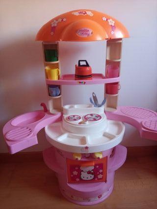 Cocina de juguete hello kitty