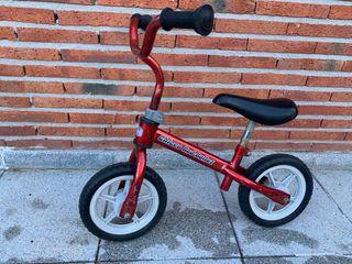 Bicicleta sin ruedas