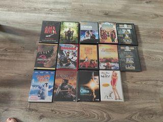 lote 14 películas dvd