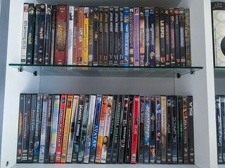 Lote de 40 pelis DVD originales + 4 Blue-ray