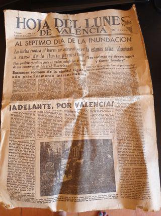 periódico valenciano antiguo