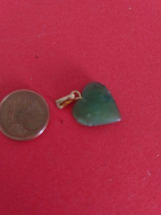 corazón de jade de nefrita