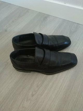 zapatos Versace piel