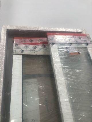 Cristalera aluminio blanco