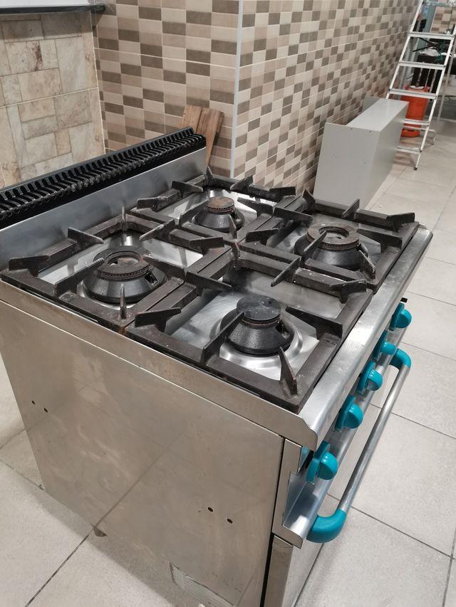 cinena 4 fuegos y horno