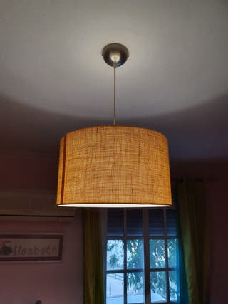 Lámpara de dormitorio.