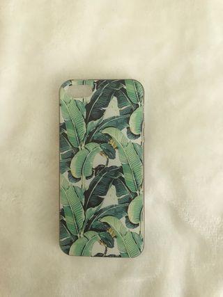 Funda silicona hojas iphone 5s Aliexpress
