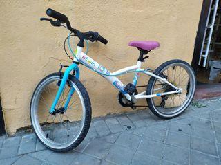 "bicicleta btwin niñas 20"" 5 speed"