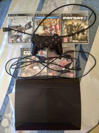 VENDO PS3 SUPER SLIM 120 GB