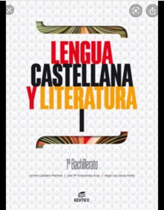 Libros Primero Bachillerato I.E.S Enrique Nieto